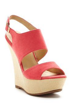 DbDk Fashion Nason Textured Wedge Sandal by Elegant Footwear on @HauteLook