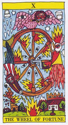 Wheel of Fortune - Tarot del Fuego