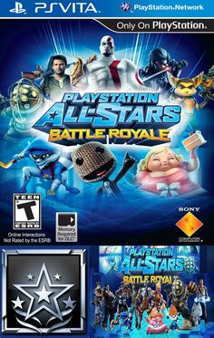 "PLAYSTATION® ALL-STARS BATTLE ROYALE (PS VITA) Platinum Trophy: ""All-Star Legend - You've Only Done Everything"""
