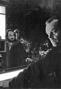 Stanley Kubrick and Jack Nicholson