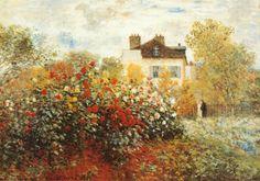 The Artist's Garden in Argenteuil - Monet