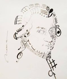 Classical music MOZART --Concrete / Shape Poem. This poem illustrates that as a composer Wolfgang Amadeus Mozart was literally made of music.