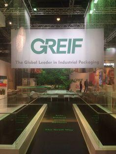 Messestand Design GREIF INC. / Exhibition Booth Graphicdesign / Interpack 2014 Fair Trade Duesseldorf / Messebau Hallmann