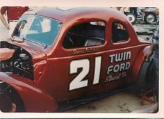 justahillbillyfromouterspace:some of those modifieds were well. Mustang Ford, Rat Rods, Nascar, Race Cars, Pony, Racing, Vehicles, Vintage, Brazil