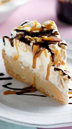 You'll never go wrong with the traditional banana, cream and toffee goodness of a banoffee pie.