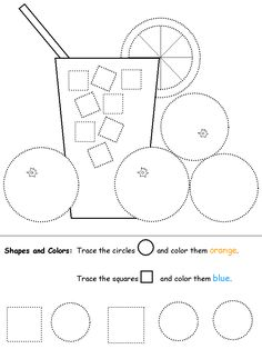 Square worksheets for preschool 1st Grade Worksheets, Preschool Worksheets, Preschool Activities, Lemon Crafts, Pre Writing, Kindergarten Math, Coloring Pages For Kids, Pre School, Kids Learning