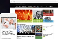 Performag is a WordPress Theme being distributed by Thrive Themes. Performag is built from the ground up to increase ad revenue, increase social - Cool Themes, Premium Wordpress Themes, Wordpress Plugins, Graphics, Purpose, Magazine Website, Magazine Layouts, Engagement, Locker