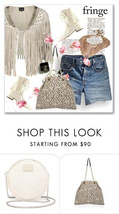 """Festival Trend: Fringe!"" by andrejae ❤ liked on Polyvore featuring Dolce&Gabbana, Chanel, River Island and fringe"