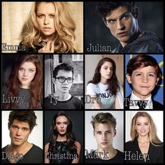 My fan casting of Lady Midnight< JULIAN IS ISAAC FROM TEEN WOLF- AHHHHHHH!!!!!!!