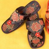 Chinese Brocade Slippers | Chinese Accessories | Women | Other Accessories    #china #accessories #chinese #asia