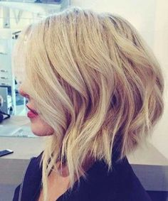 Romantic Short Edgy Bob Hairstyles 2018 for Women to Look Hot and Beautiful