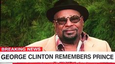 GEORGE CLINTON remembers PRINCE.......rip* 4-21-2016 @ 360° (Anderson Co...