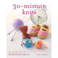 #amidsummerknitsdream #loveknittingcom - 30-Minute Knits - Books