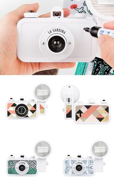 Enter our competition to win a Lomography La Sardina DIY camera kit