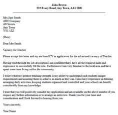 A leave application letter is written by an employee who wants to letter application for teaching cover samples teachers thecheapjerseys Choice Image