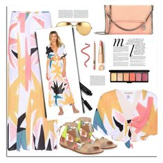 """Summer OOTD"" by sophieandstyle ❤ liked on Polyvore featuring Mara Hoffman, Whiteley, Linda Farrow, Bobbi Brown Cosmetics, STELLA McCARTNEY and Loeffler Randall"