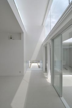 Interior view of the N-House in Japan by D.I.G Architects _
