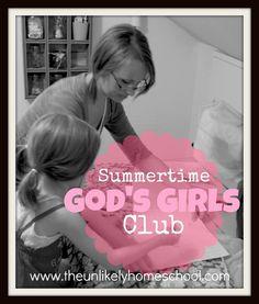 Summertime God's Girls Club