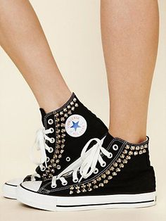 Free People Joey Studded Converse | StyleCaster MUST GET!!!!