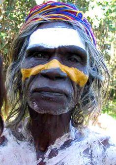 Aboriginal man - ✮ www.pinterest.com/WhoLoves/Australia ✮ #Australia