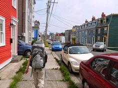A capital city day in St. John's along the East Coast Trail in Newfoundland