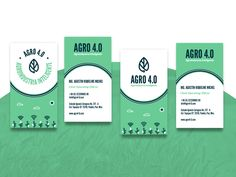 Agro 4 0 Business Card Design Business Card Branding Business Card Logo