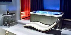 Sauna a wellness Praha Saunas, Spa, Bathtub, Relax, Wellness, Standing Bath, Bathtubs, Bath Tube, Steam Room