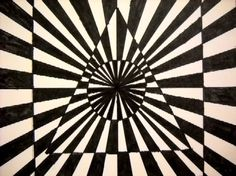 Art Room Current Projects  op art