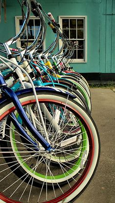 Beach bikes....i will take one of each color