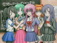 too much yandere: mirai nikki, school days, higurashi no naku koro ni, shuffle and . Yandere Girl, Yandere Anime, Animes Yandere, Tsundere, Otaku Anime, Manga Anime, Anime Art, Manga Girl, Anime Girls