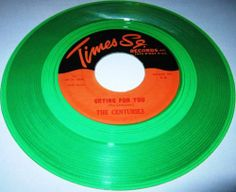 1963 Doo Wop 45 Rpm Centuries / Jaytones CRYING FOR YOU / OH DARLING On Times Sq 5 (Green Wax).