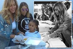 Beyonce returned to her home town of Houston, Texas, to help those affected by Hurricane Harvey.   Thousands of people were left homeles...