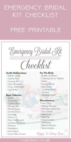 The 12 Month Wedding Checklist Every Indian Bride Needs ...