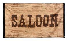 Dekofahne Saloon, 90 x 150 cm