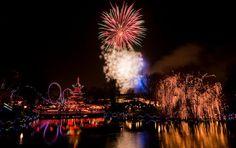 Tivoli Gardens Fireworks For New Year's Eve. Photo courtesy of Stig Nygaard via Flickr.