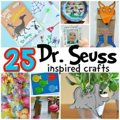 dr seuss inspired crafts