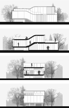 creative elevations for buildings - Google Search