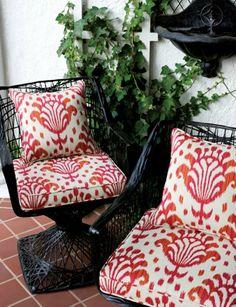 Thai Ikat Fabric from Thibaut-looove thibaut!!!