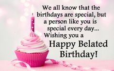 Send belated birthday wishes, messages and greetings 2017 to your friends. I have here happy birthday wishes images to help you in expressing your feelings Belated Happy Birthday Wishes, Birthday Wishes For Boyfriend, Birthday Wishes For Daughter, Happy Birthday Wishes Cards, Birthday Wishes And Images, Best Birthday Wishes, Birthday Blessings, Birthday Cards, Birthday Images