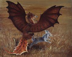 Redtail Dragon by ~Hbruton on deviantART