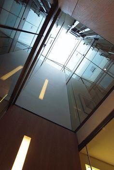 elevator shaft jura tangram design architecture   lausanne   fred hatt architecte   PORTFOLIO Lausanne, Elevator, Architecture Design, Wood Construction, World, Law School, Architecture Layout, Architecture