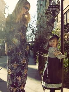 Kristina O'Neill with her daughter, Stella.