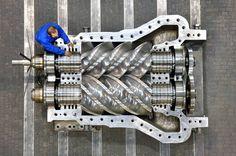 MAN Diesel steam turbine