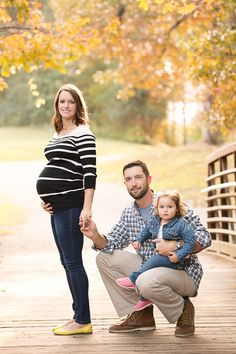 Maternity photography with older sibling or toddler and dad