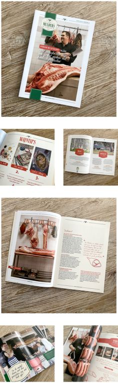 • MINI MAGAZINE •  In opdracht van @thefoodstory een mini magazine mogen ontwerpen voor @slagerij mulders in Hilvarenbeek. Dank je wel Krystel voor de leuke opdracht!!  —  #magazine #grafisch #ontwerp #vlissingen #middelburg #hilvarenbeek #slagerij #slager