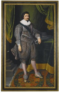 Michiel Jansz. van Mierevelt and studio DELFT 1567 - 1641 PORTRAIT OF FREDERICK I, KING OF BOHEMIA (1596–1632); PORTRAIT OF ELIZABETH STUART, DAUGHTER OF JAMES I AND QUEEN OF BOHEMIA (1596–1662)