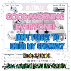 Last chance . Only a couple days left #magicalgiveaways #magicalgiveaway #disneyland #disney #instagramcontest #instagramgiveaway #instagramgiveaways #contest #tsumtsum #giveaway #guardiansofthegalaxy #contest #give #share #repost #instalove #instafollow #avengers #marvel #marvelgiveaway #marvellove #disneyside #disneygram #disneyworld #disneyparks #disneystore #disneyphoto by magicalgiveaways