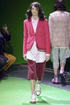 COMME des GARÇONS <br> Brocade Tassel Jacket