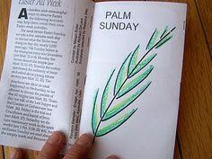 Easter all week booklet.