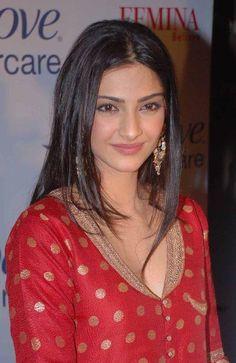 Sonam Kapoor - Banarsi Style Red Salwaar